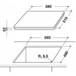 Индукционная поверхность WHIRLPOOL ACM808BA/S