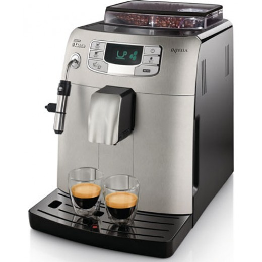 Кофемашина эспрессо SAECO-PHILIPS INTELIA EVO SUPER-AUTOMATIC ESPRESSO HD8752/84