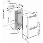 Встраиваемый холодильник LIEBHERR ICBN3314