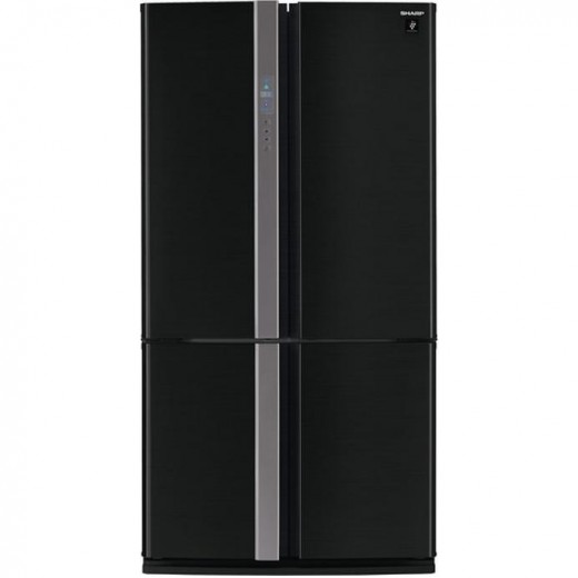 Side-by-side холодильник SHARP SJ-FP760VBK