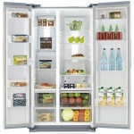 Side-by-side холодильник SAMSUNG RS7527THCSR