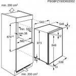 Встраиваемая морозильная камера ELECTROLUX EUN1000AOW