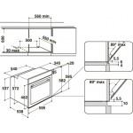 Духовой электрический шкаф WHIRLPOOL AKZM784WH