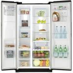 Side-by-side холодильник SAMSUNG RS7768FHCBC