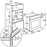Духовой электрический шкаф ELECTROLUX EOB5351АОХ
