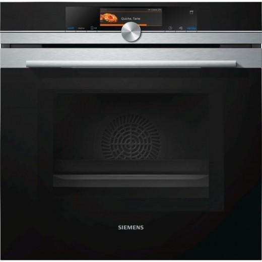 Духовой электрический шкаф с микроволновым режимом SIEMENS HN678G4S6