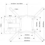 Наклонный кронштейн ElectricLight КБ 01-83