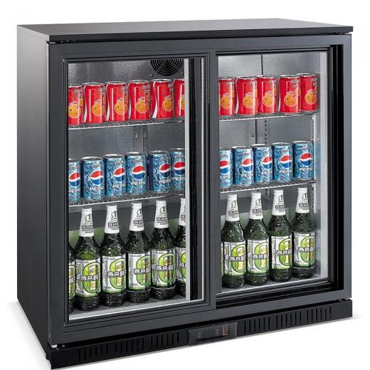 Шкаф холодильный EWT INOX LG198S барный